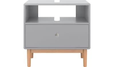 TOM TAILOR Waschbeckenunterschrank »COLOR BATH«, mit 1 Schublade, mit Push-to-Open, mit Füßen in Eiche geölt, Breite 65 cm kaufen