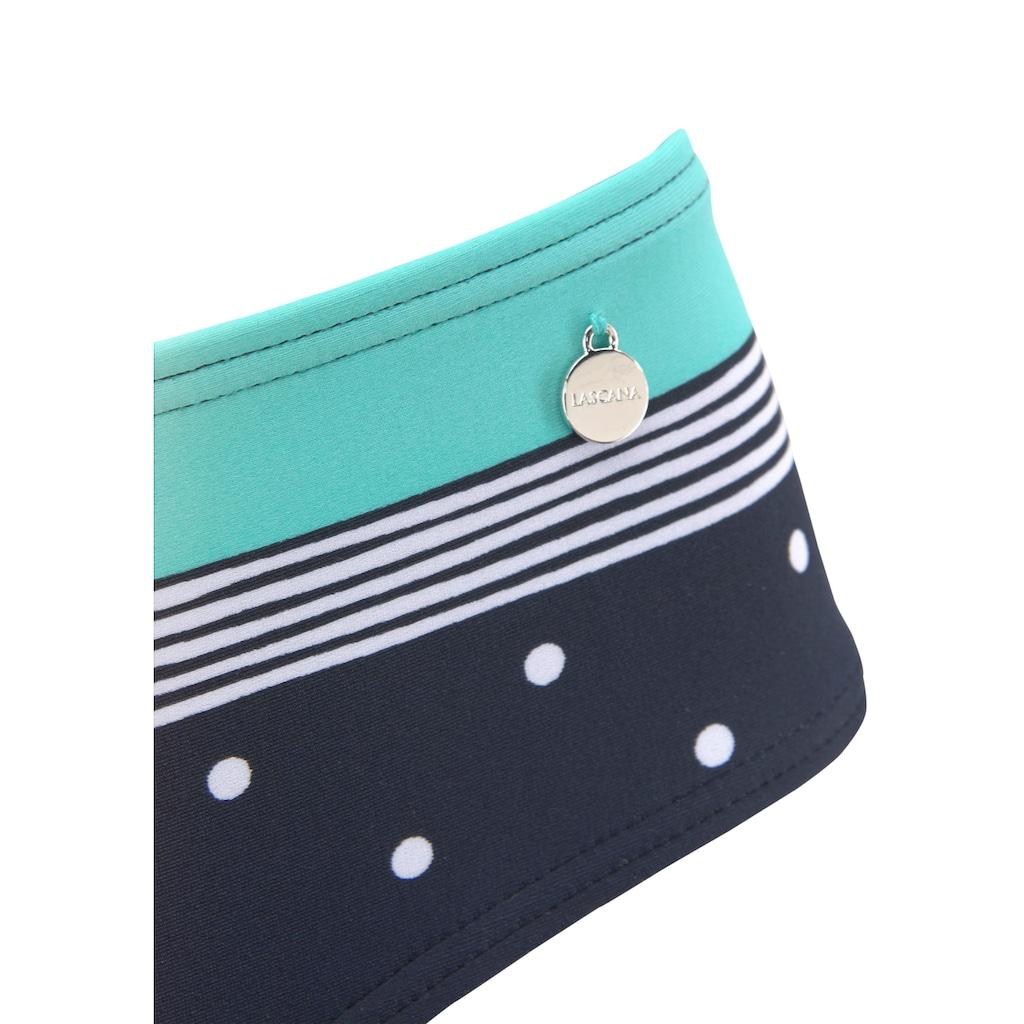 LASCANA Bikini-Hose »Monroe«, In etwas höher geschnittener Form.