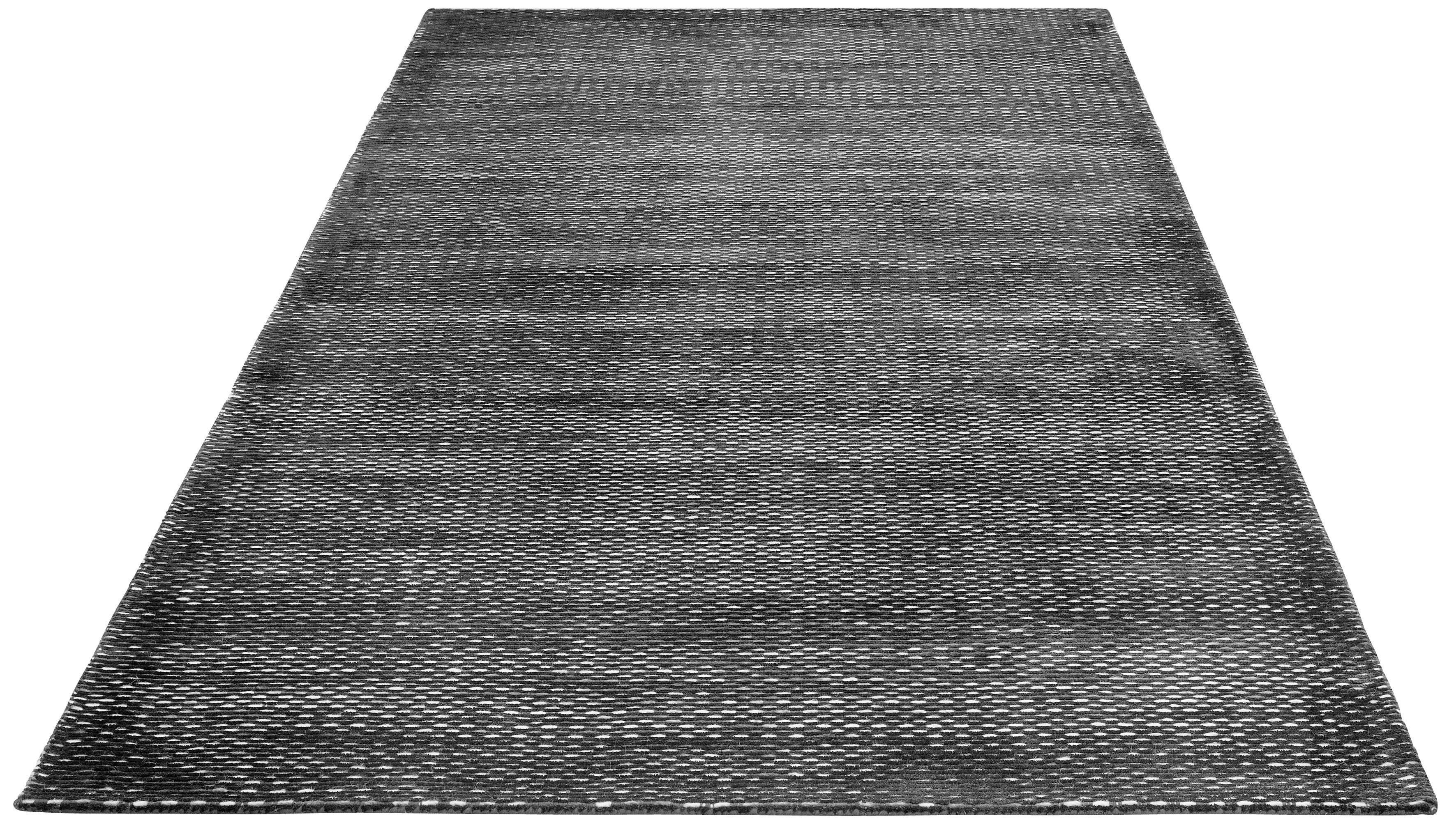 Teppich Ryker DELAVITA rechteckig Höhe 12 mm handgewebt