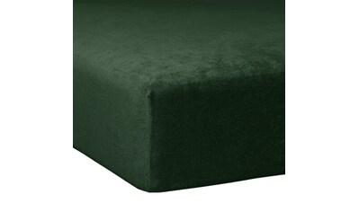 TRAUMSCHLAF Spannbettlaken »Flausch Biber Boxspring«, warme weiche Qualität kaufen