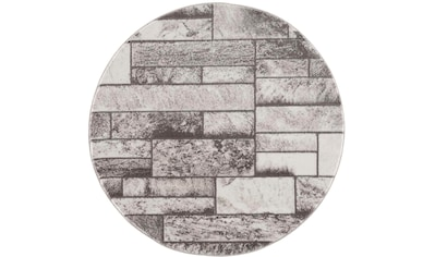 Teppich, »Noa 9250«, Carpet City, rund, Höhe 11 mm, maschinell gewebt kaufen