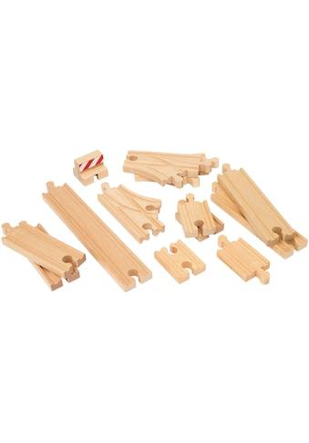 BRIO® Gleise-Set »Ergänzungsset Holzschienensystem, BRIO® WORLD Schienen Starter Pack... kaufen