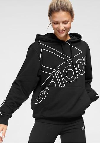 adidas Performance Kapuzensweatshirt »ESSENTIALS GIANT LOGO HOODIE« kaufen