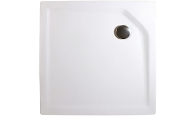 SCHULTE Set: Duschwanne »extra - flach«, quadratisch, verschiedene Breiten und Tiefen kaufen
