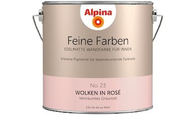 ALPINA Wand -  und Deckenfarbe »Feine Farben  -  Wolken in Rosé«, 2,5 l kaufen