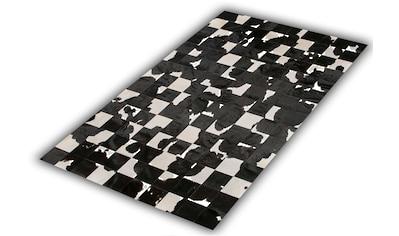 Trendline Fellteppich »Barcelona«, rechteckig, 3 mm Höhe, Patchwork, handgenäht,... kaufen