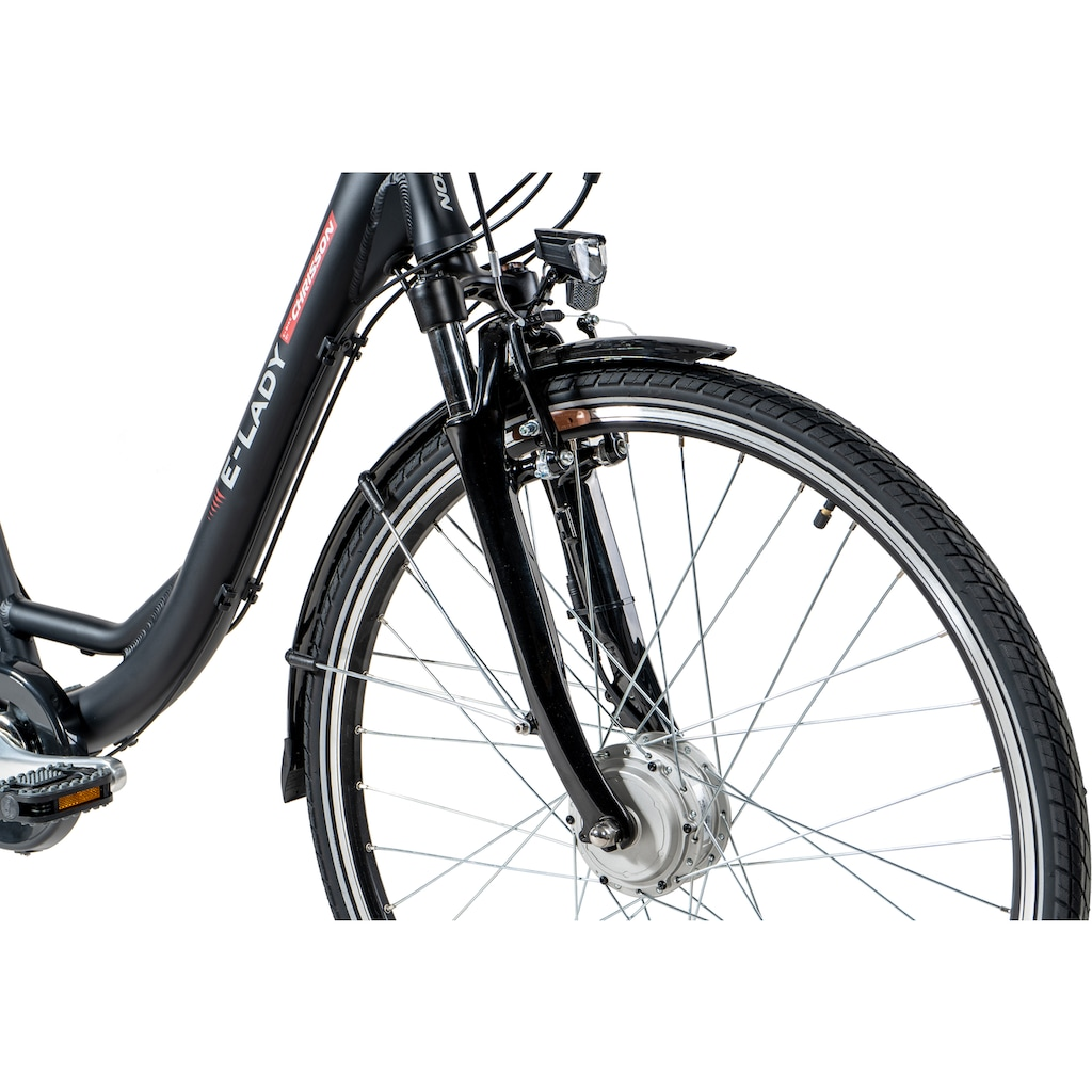 Chrisson E-Bike »E-LADY«, 8 Gang, Shimano, SG-C3000-7C, Frontmotor 250 W