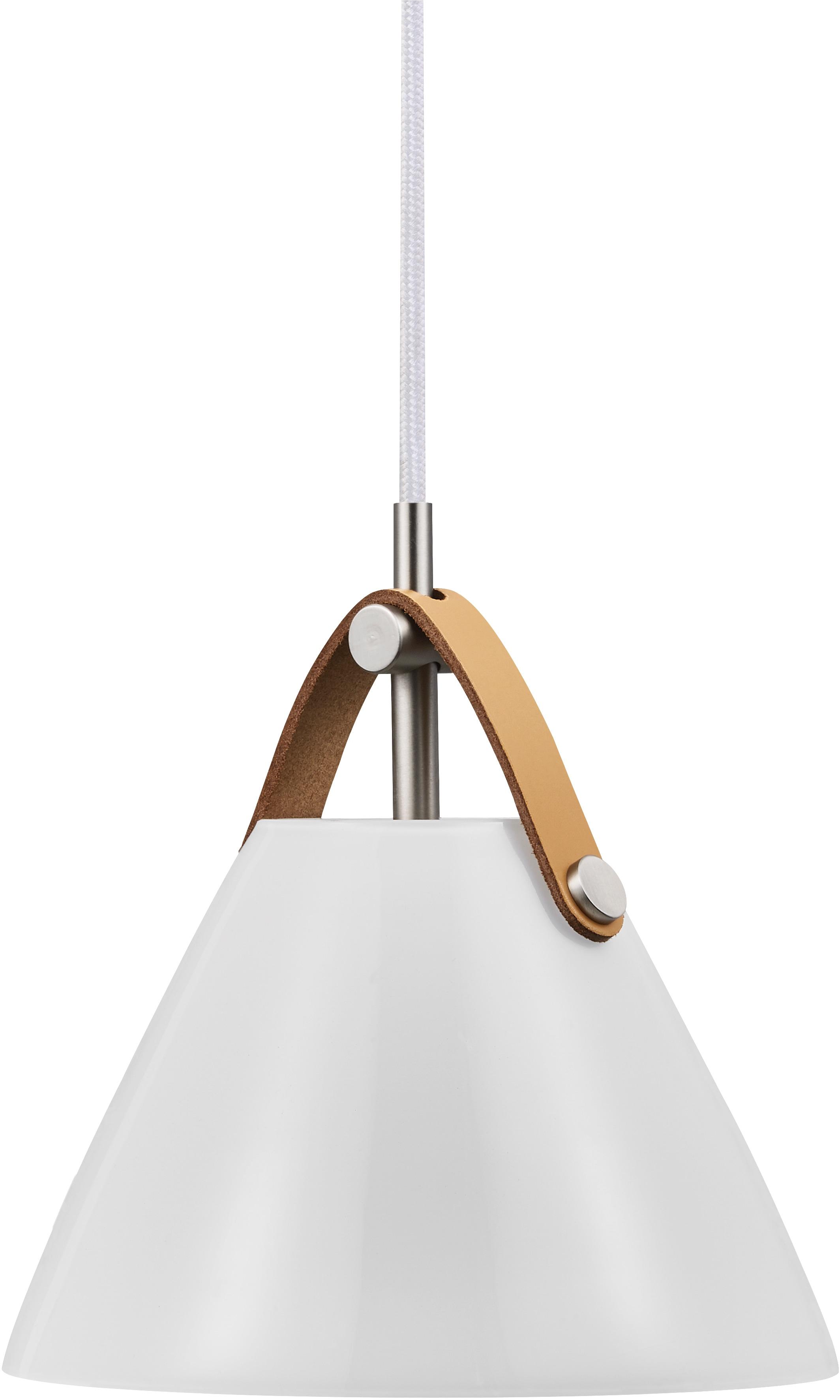 design for the people Tischleuchte STRAP, G9, Schirm aus Opal Glas