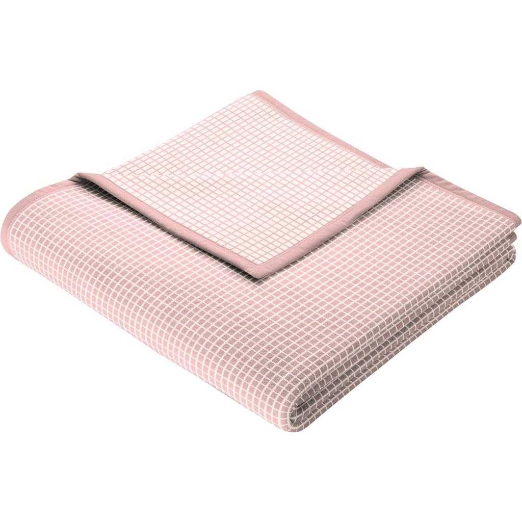 BIEDERLACK Wohndecke »New Cotton«, leichte Webdecke