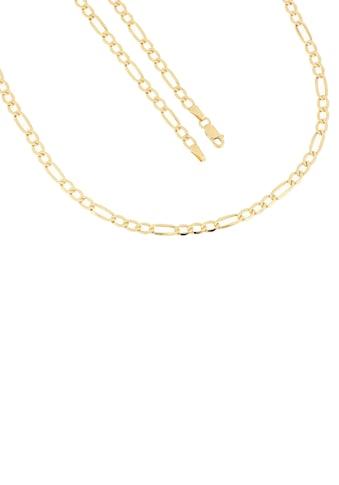 Firetti Goldkette »in Figarokettengliederung, 3,5 mm, 6 - fach diamantierte Optik, halbmassiv« kaufen