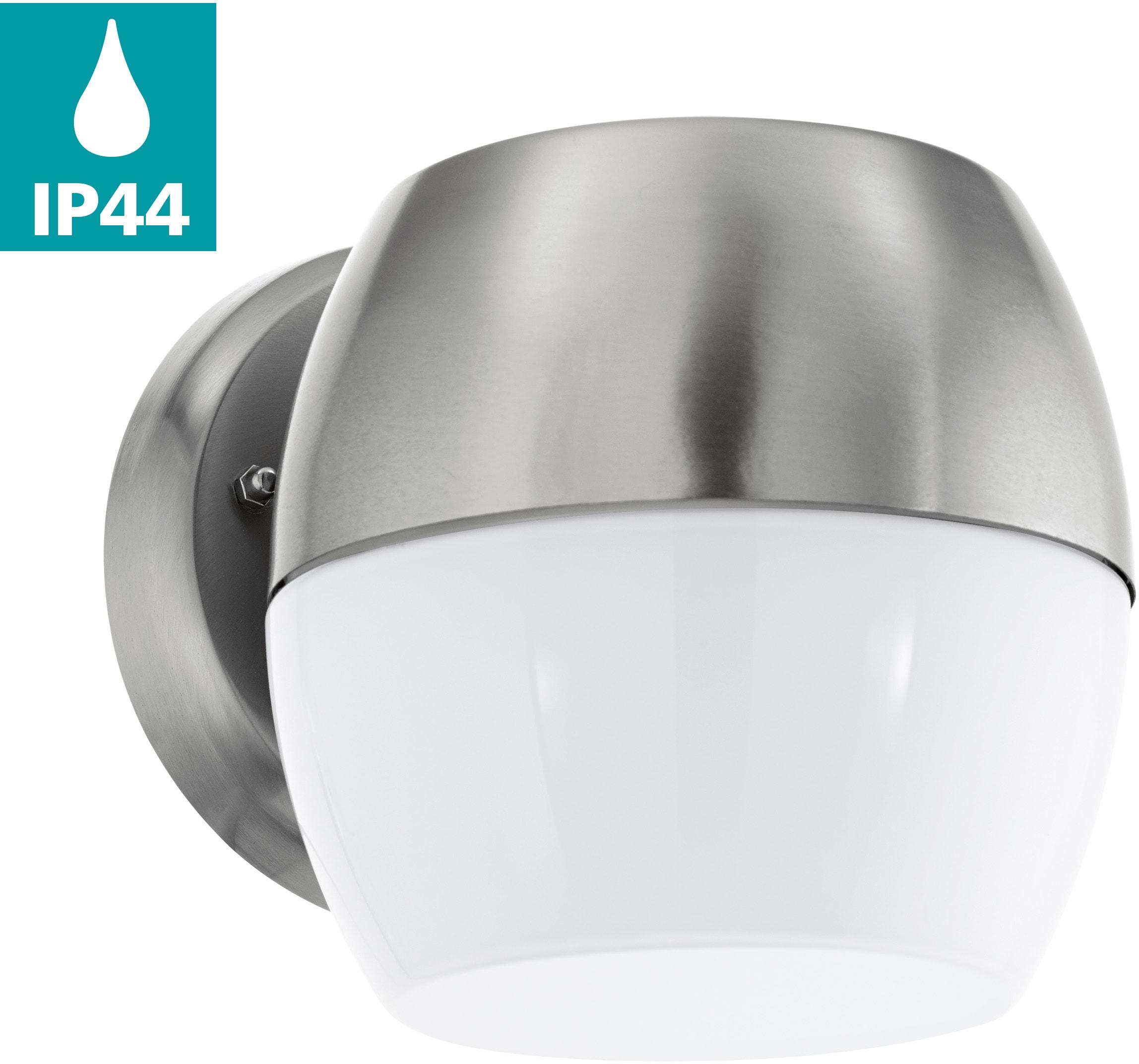 EGLO LED Außen-Wandleuchte ONCALA, LED-Board, Warmweiß, Eckmontage möglich, LED tauschbar