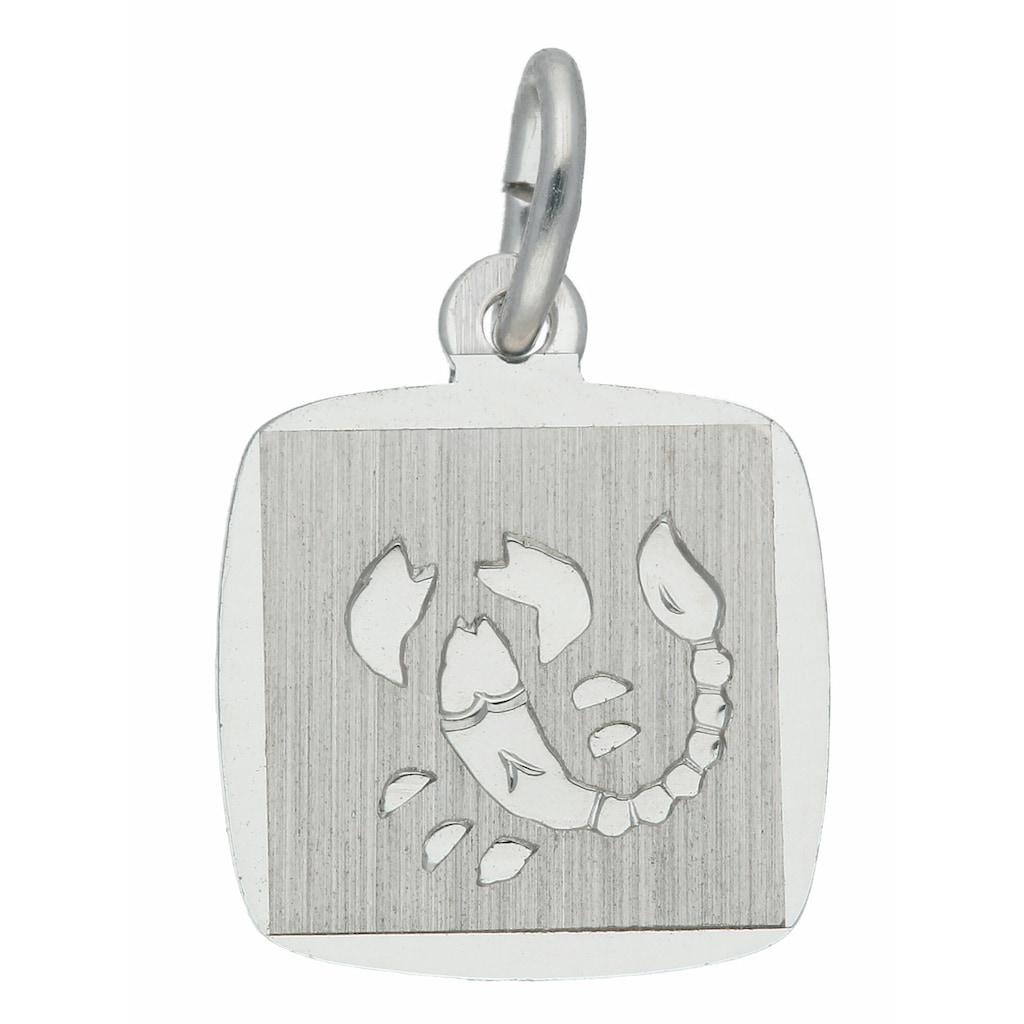 Adelia´s Kettenanhänger »925 Silber Sternzeichen Anhänger Skorpion«