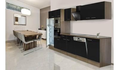 RESPEKTA Küchenzeile »York«, mit E-Geräten, Breite 340 cm kaufen