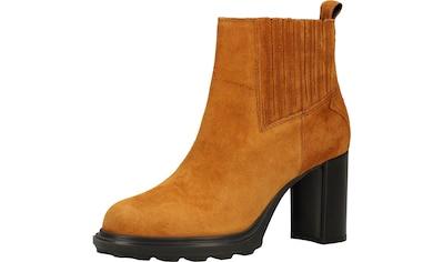 Geox High-Heel-Stiefelette »Veloursleder/Textil« kaufen