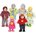 Hape Stoffpuppe »Puppenfamilie«, (Set, 6 tlg.)