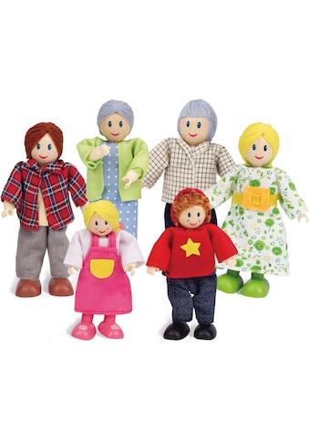 Hape Stoffpuppe »Puppenfamilie«, (Set, 6 tlg.) kaufen