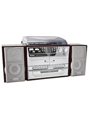 Karcher Kompaktanlage »KA 320«, ( AM-Tuner-FM-Tuner 4 W), mit Plattenspieler kaufen