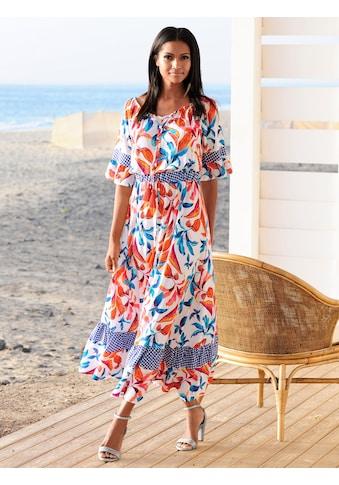 Alba Moda Strandkleid mit Zierquasten kaufen