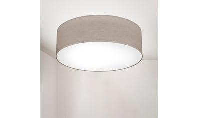 B.K.Licht Deckenleuchte, E27, LED Deckenlampe Stoff Textil Lampenschirm Wohnzimmerlampe Schlafzimmer E27 kaufen