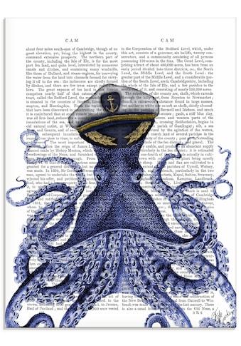 Artland Glasbild »Kapitän Oktopus« kaufen