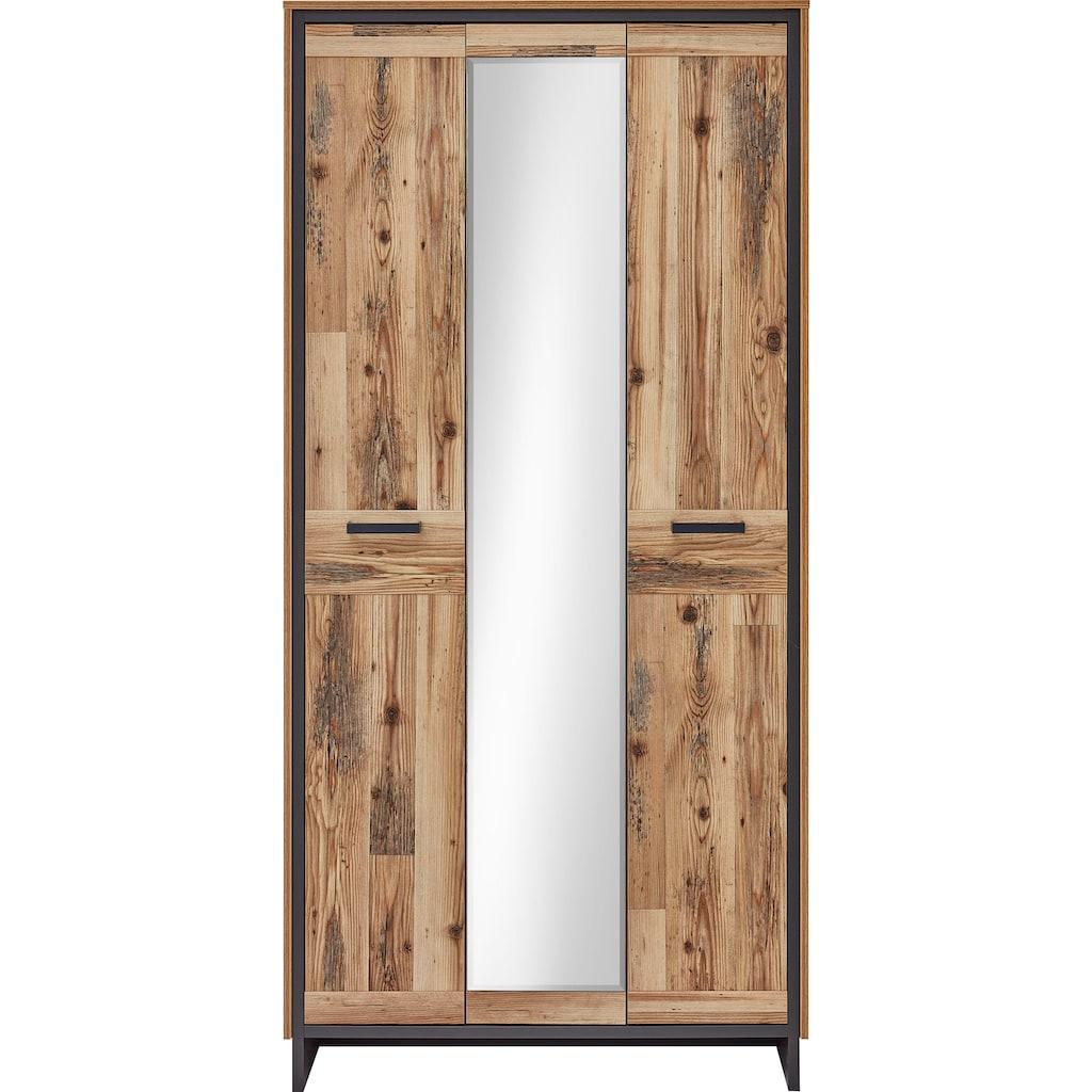 Innostyle Garderobenschrank »Prato«, mit Spiegeltür