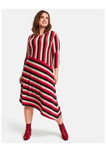 Samoon Kleid Gewirke »Jerseykleid im Streifen - Design« kaufen