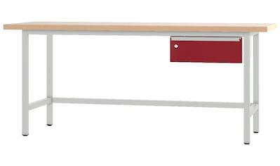 PADOR Werkbank »31-WT-001/20 R«, B/T/H: 200x70x85,5 cm kaufen