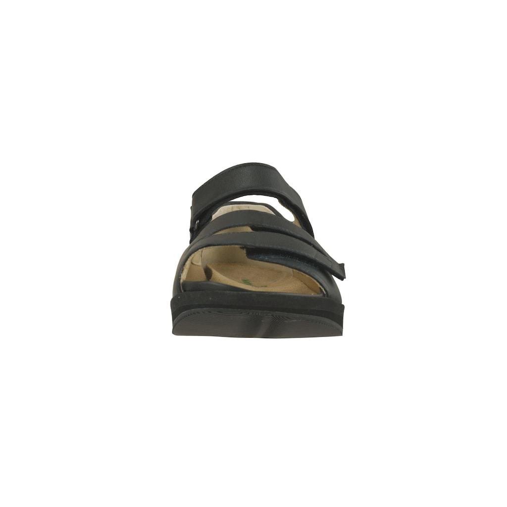 Natural Feet Sandale »Marokko«, mit anpassbarer Laufsohle
