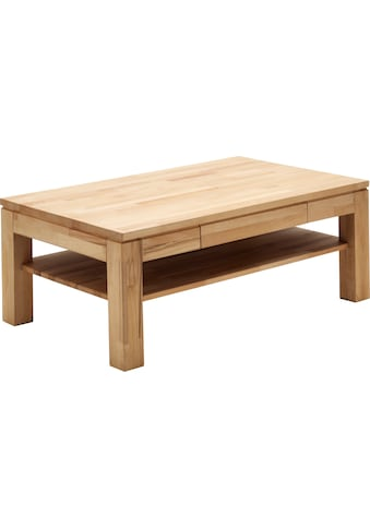 MCA furniture Couchtisch, Couchtisch Massivholz mit Schublade kaufen