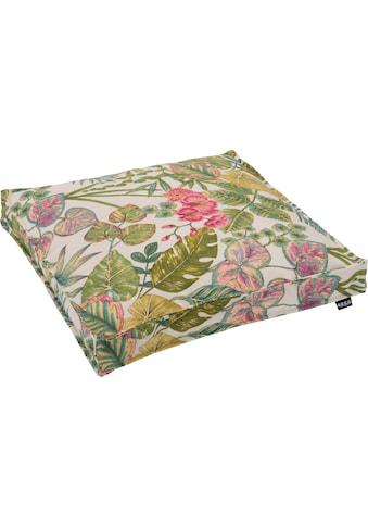 H.O.C.K. Sitzkissen »Eliza-Bouquet Outdoor Sitzkissen«, Outdoor geeignet kaufen