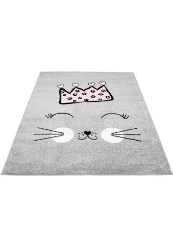 Kinderteppich, »Bubble Kids 1331«, Carpet City, rechteckig, Höhe 11 mm, maschinell gewebt kaufen