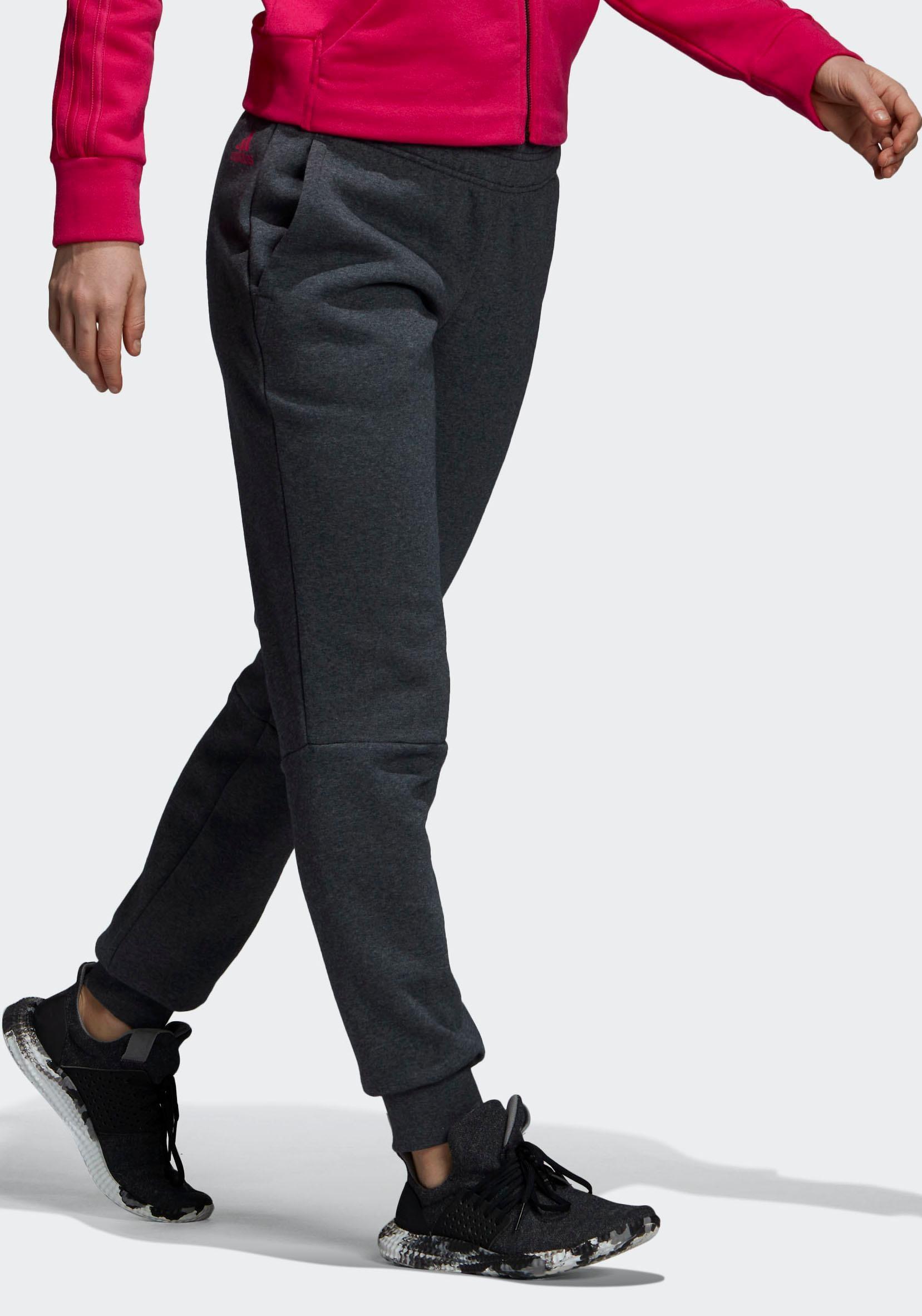 adidas Performance Jogginghose »ESSENTIAL LINEAR FL PANT« für Damen | BAUR