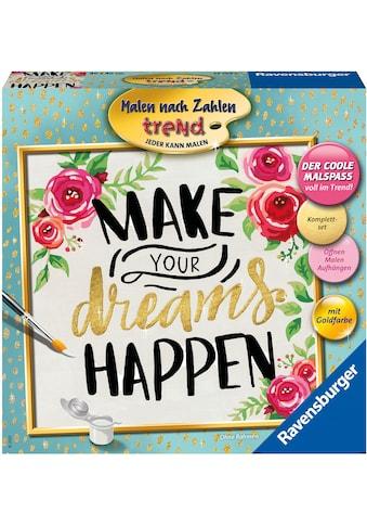 Ravensburger Malen nach Zahlen »Make your dreams happen«, Made in Europe; FSC® -... kaufen