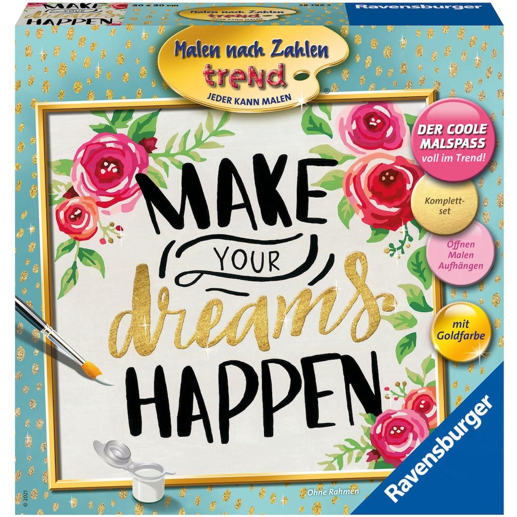 Ravensburger Malen nach Zahlen »Make your dreams happen«, Made in Europe; FSC® - schützt Wald - weltweit