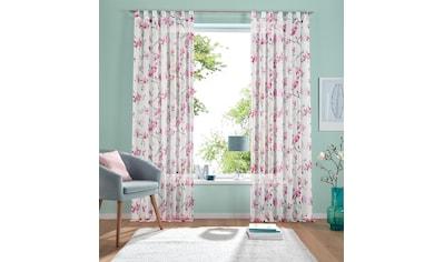 Gardine, »Orchidee«, my home, Schlaufen 1 Stück kaufen