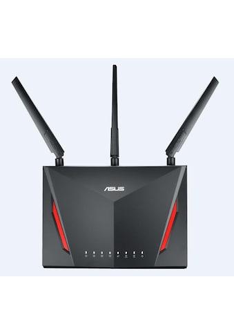 Asus RT - AC86U »AC2900 Dual Band WLAN - Gaming - Router« kaufen