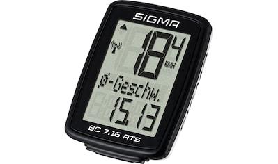 SIGMA SPORT Fahrradcomputer »BC 7.16 ATS«, kabellos kaufen