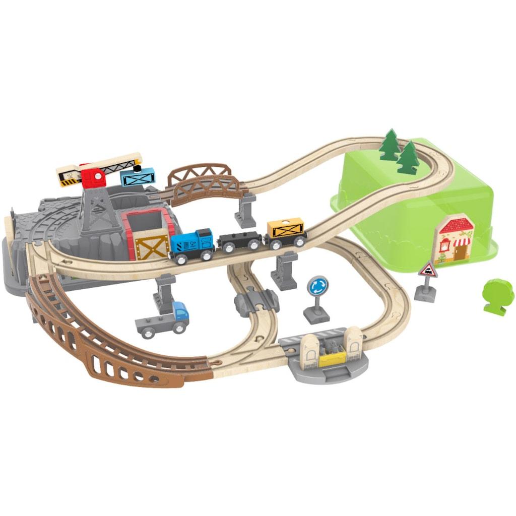 Hape Spielzeug-Eisenbahn »Eisenbahn-Baukasten«