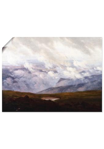 Artland Wandbild »Ziehende Wolken, 1821«, Felder, (1 St.), in vielen Größen &... kaufen