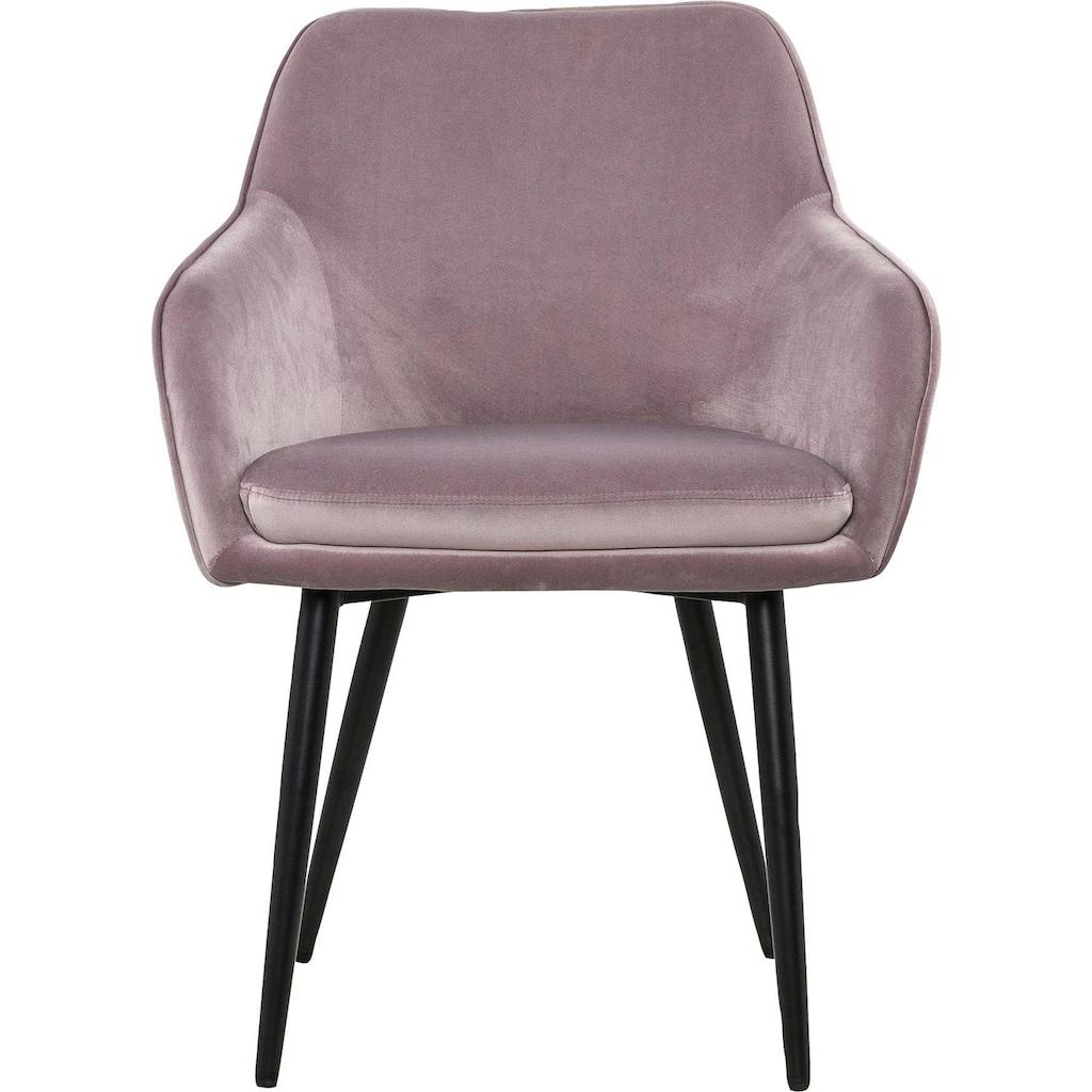 SalesFever Armlehnstuhl, mit Diamantsteppung auf der Rückseite