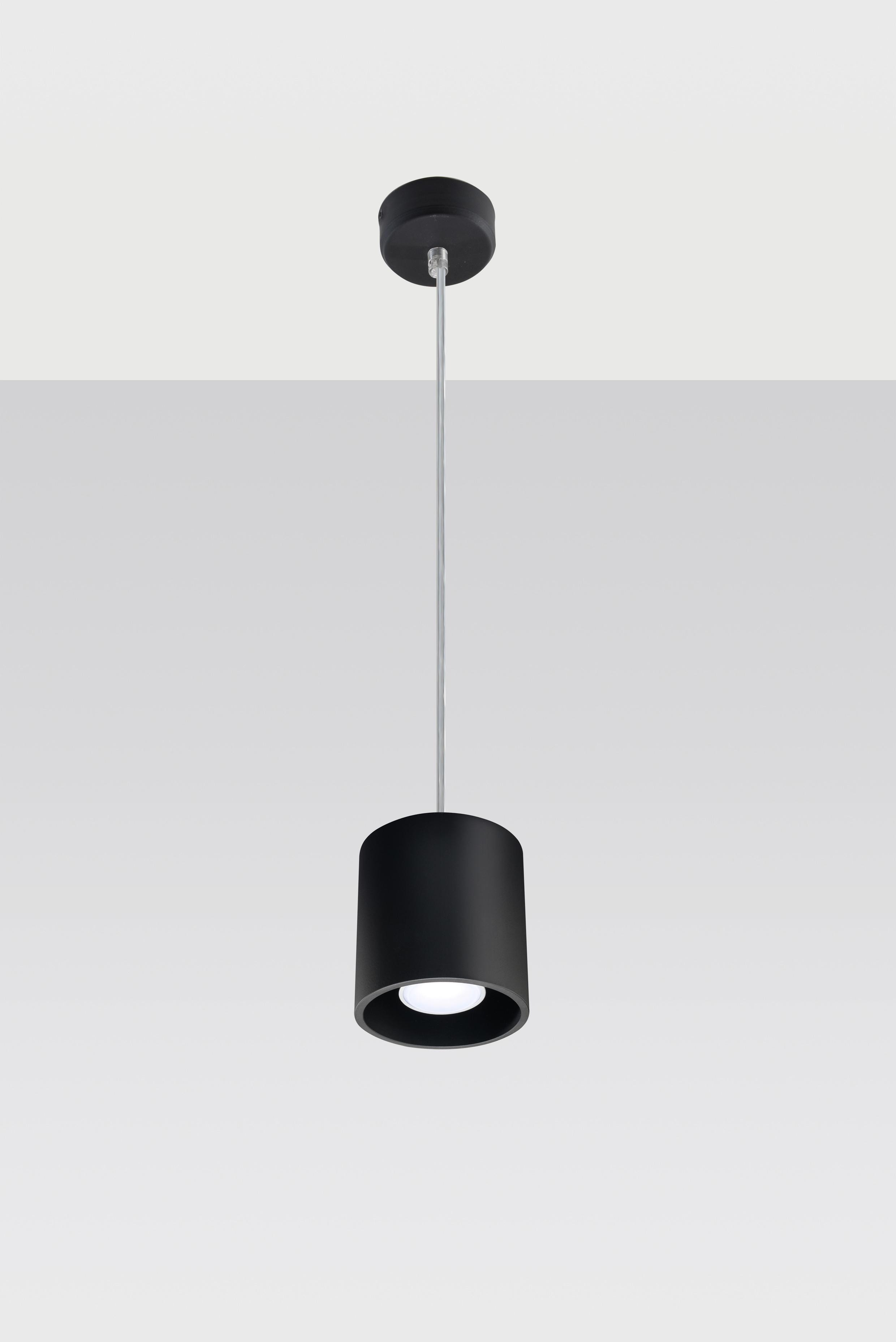 SOLLUX lighting Pendelleuchte ORBIS, GU10, 1 St., Hängeleuchte, Hängelampe