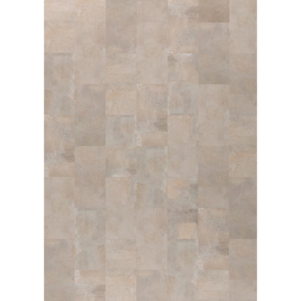 ter Hürne Designboden »Stein Mitra sandgrau«, mit fühlbarer Oberfläche und Klicksystem