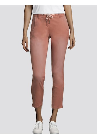 TOM TAILOR Chinohose »Tapered Relaxed Hose mit Tunnelzug« kaufen