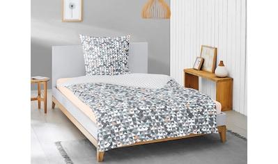 Irisette Wendebettwäsche »Luna 8172«, mit Mosaik und Rauten kaufen