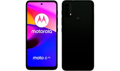 "Motorola Smartphone »Moto E 40«, (16,59 cm/6,53 "", 64 GB Speicherplatz, 48 MP Kamera) kaufen"