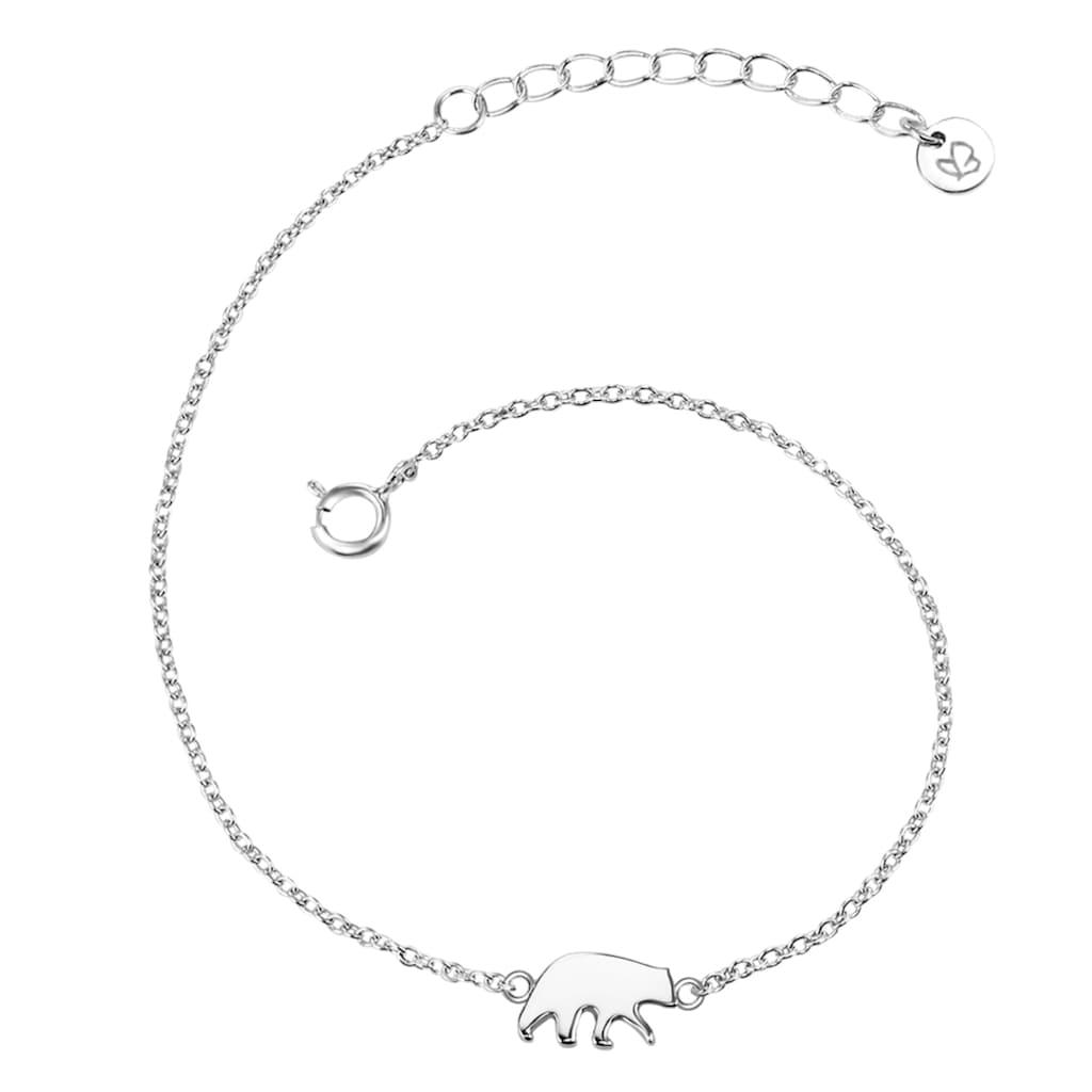 Glanzstücke München Silberarmband »A1317«, (1 tlg.), aus Sterling Silber