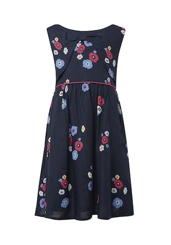 TOM TAILOR A - Linien - Kleid »Kleid mit Blumenmuster« kaufen