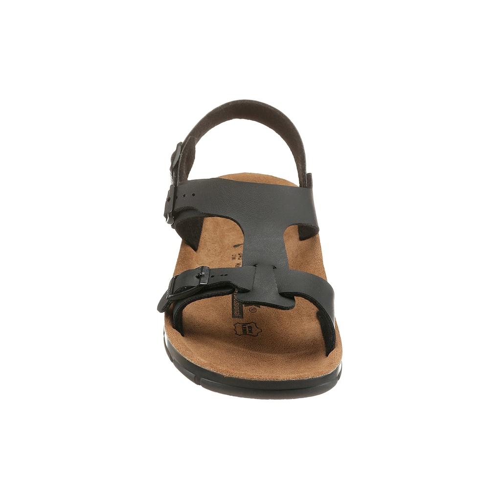 Birkenstock Berufsschuh »SARAGOSSA Sandale«, mit rutschhemmender, öl- und fettbeständiger Laufsohle