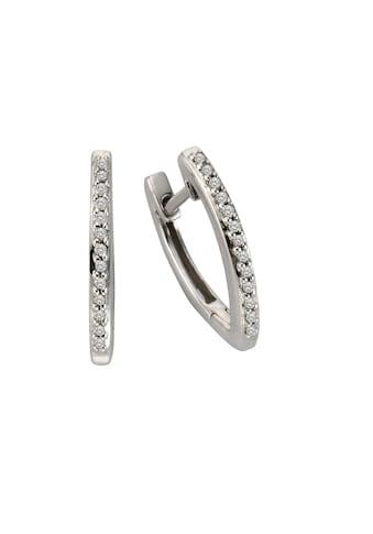 CELESTA Creolen »925/ -  Silber 26x Diamant« kaufen