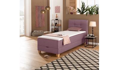 Home affaire Boxspringbett »Haley«, in 2 Matratzenarten und 4 Farben, incl. Topper und Bettkasten kaufen
